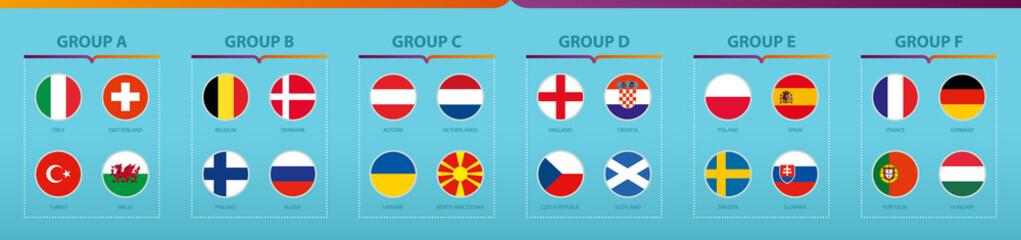Euro 2020 - Groupe de la compétition