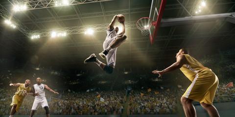 Basketball - joueurs et pauses